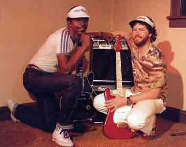 Bobcat and Luther Allison